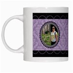 Royal Silhouette White Mug