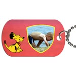 Puppy School Bag Dog Tag (2 sided) - Dog Tag (Two Sides)