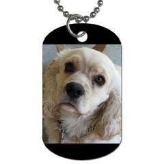 Tucker By Kelly Hudson   Dog Tag (two Sides)   Xtj9gllnk3zh   Www Artscow Com Front