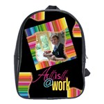 Artist @Work School Bag Back pack large - School Bag (Large)