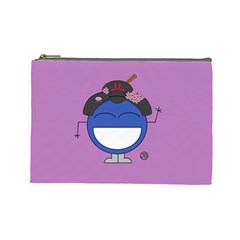 Geisha Cosmetics Bag (large) By Giggles Corp   Cosmetic Bag (large)   Fl33ho38bfyt   Www Artscow Com Front