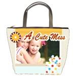 a cute mess - Bucket Bag