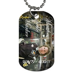 Noble By Jennifer Majszak   Dog Tag (two Sides)   Px8nku62n9zs   Www Artscow Com Front