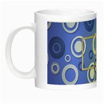 blue  n white mug - Night Luminous Mug
