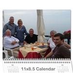 Italy Calendar for Dad - Wall Calendar 11  x 8.5  (18 Months)