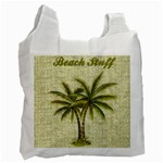 Beach Stuff recycle bag - Recycle Bag (One Side)