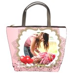 happy mothers day - Bucket Bag