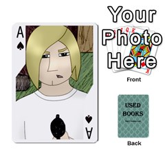 Ace Ub Cards By Vickie Boutwell   Playing Cards 54 Designs   Uq8ulw93o2jd   Www Artscow Com Front - SpadeA
