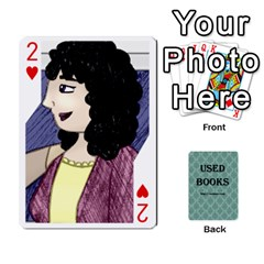 Ub Cards By Vickie Boutwell   Playing Cards 54 Designs   Uq8ulw93o2jd   Www Artscow Com Front - Heart2