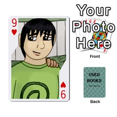 Ub Cards By Vickie Boutwell   Playing Cards 54 Designs   Uq8ulw93o2jd   Www Artscow Com Front - Heart9