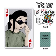 Queen Ub Cards By Vickie Boutwell   Playing Cards 54 Designs   Uq8ulw93o2jd   Www Artscow Com Front - HeartQ