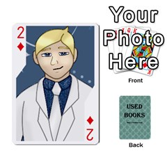 Ub Cards By Vickie Boutwell   Playing Cards 54 Designs   Uq8ulw93o2jd   Www Artscow Com Front - Diamond2