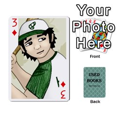 Ub Cards By Vickie Boutwell   Playing Cards 54 Designs   Uq8ulw93o2jd   Www Artscow Com Front - Diamond3