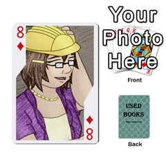 Ub Cards By Vickie Boutwell   Playing Cards 54 Designs   Uq8ulw93o2jd   Www Artscow Com Front - Diamond8