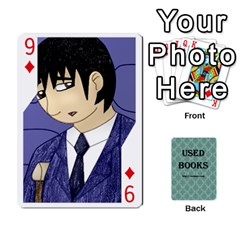 Ub Cards By Vickie Boutwell   Playing Cards 54 Designs   Uq8ulw93o2jd   Www Artscow Com Front - Diamond9