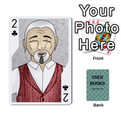 Ub Cards By Vickie Boutwell   Playing Cards 54 Designs   Uq8ulw93o2jd   Www Artscow Com Front - Club2