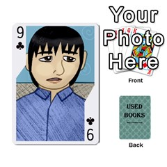 Ub Cards By Vickie Boutwell   Playing Cards 54 Designs   Uq8ulw93o2jd   Www Artscow Com Front - Club9