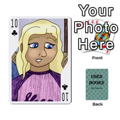 Ub Cards By Vickie Boutwell   Playing Cards 54 Designs   Uq8ulw93o2jd   Www Artscow Com Front - Club10