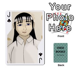 Jack Ub Cards By Vickie Boutwell   Playing Cards 54 Designs   Uq8ulw93o2jd   Www Artscow Com Front - ClubJ