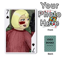 Ub Cards By Vickie Boutwell   Playing Cards 54 Designs   Uq8ulw93o2jd   Www Artscow Com Front - Spade7