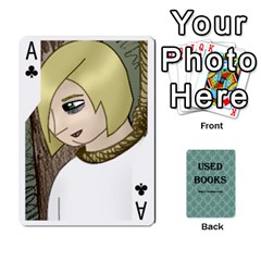 Ace Ub Cards By Vickie Boutwell   Playing Cards 54 Designs   Uq8ulw93o2jd   Www Artscow Com Front - ClubA