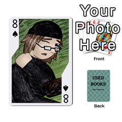 Ub Cards By Vickie Boutwell   Playing Cards 54 Designs   Uq8ulw93o2jd   Www Artscow Com Front - Spade8