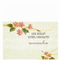 Healthy Chocolate Floral Bag  By Lynette Henk   Bucket Bag   6v4dv3ftpi5g   Www Artscow Com Front