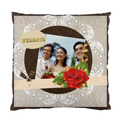 Wedding By Joely   Standard Cushion Case (two Sides)   Ek5ncitsn3nh   Www Artscow Com Front