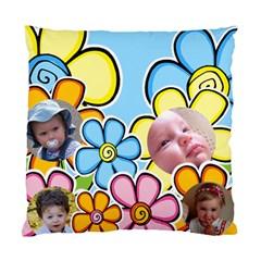 Flower Children Cushion (2 Sided) By Deborah   Standard Cushion Case (two Sides)   A6sdnoo57dg2   Www Artscow Com Front