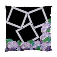 Silver And Lilac Cushion Case (2 Sided) By Deborah   Standard Cushion Case (two Sides)   5gcqqbq120wy   Www Artscow Com Back