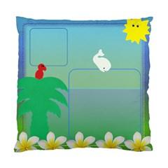 Beach House Cushion Cover (2 Sided) By Deborah   Standard Cushion Case (two Sides)   Eyctvisnyruf   Www Artscow Com Back