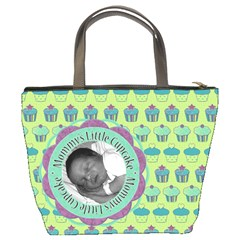 Mommy s Little Cupcake Bucket Bag By Klh   Bucket Bag   An75c9cr102r   Www Artscow Com Back