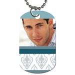 man - Dog Tag (One Side)