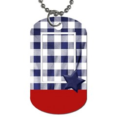 My Country 2 Sided Dog Tag 1 By Lisa Minor   Dog Tag (two Sides)   7d2nkvgnr2xq   Www Artscow Com Front