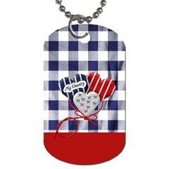 My Country 2 Sided Dog Tag 1 By Lisa Minor   Dog Tag (two Sides)   7d2nkvgnr2xq   Www Artscow Com Back