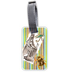 Nile Treasures Luggage Tag By Allison   Luggage Tag (two Sides)   9vzrdljl51lm   Www Artscow Com Front