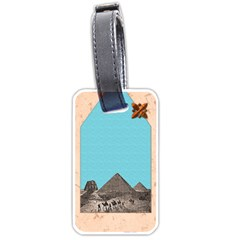 Nile Treasures Luggage Tag By Allison   Luggage Tag (two Sides)   9vzrdljl51lm   Www Artscow Com Back
