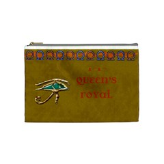 Nile Treasures Queen s Cosmetic Bag By Allison   Cosmetic Bag (medium)   Oqz2uriwh8ds   Www Artscow Com Front