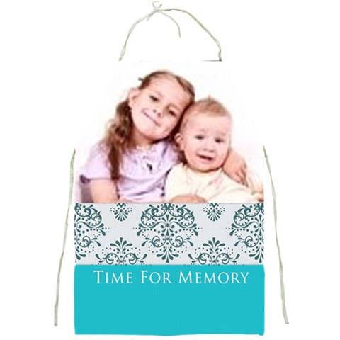 Time For Memory By Wood Johnson   Full Print Apron   6uqyrnjgj29r   Www Artscow Com Front