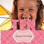 happy birthday - ScrapBook Page 12  x 12