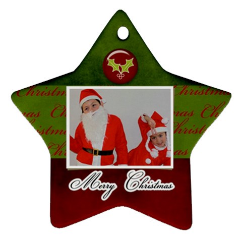 Ornament Star2 By Jennyl   Ornament (star)   Mt0cug76ujix   Www Artscow Com Front