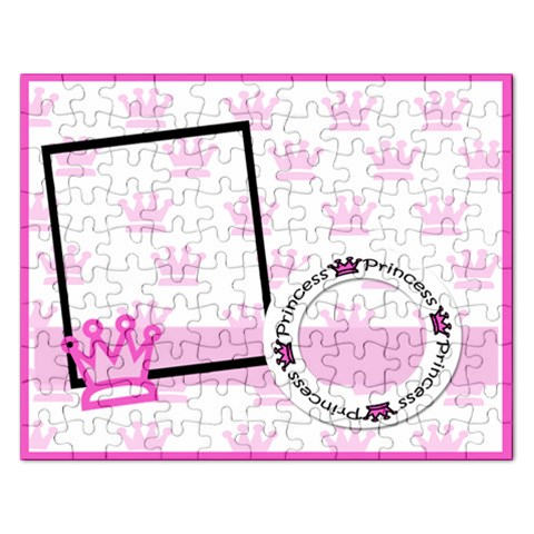 Princess Puzzle By Amanda Bunn   Jigsaw Puzzle (rectangular)   Lahvtmm3lroy   Www Artscow Com Front