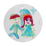 Rebekah Wedding Ornament - Ornament (Round)