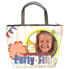 Party Time By Joely   Bucket Bag   9qivya4qi43g   Www Artscow Com Back