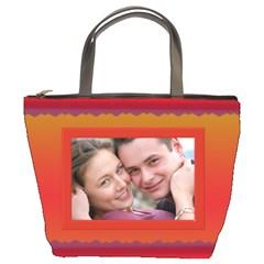 Sunset Bucket Bag By Deborah   Bucket Bag   U4rtwrpelcz6   Www Artscow Com Front