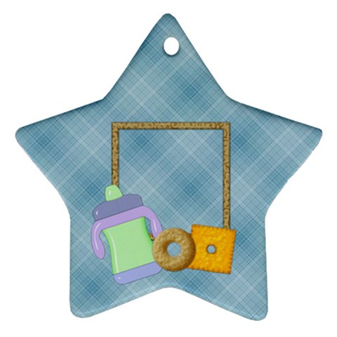 Foodie Star Ornament By Lisa Minor   Ornament (star)   Seud31gnlafp   Www Artscow Com Front