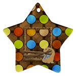 Dinosaur Star Ornament - Ornament (Star)