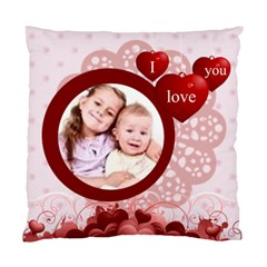 I Love You By Wood Johnson   Standard Cushion Case (two Sides)   Sg56ctvhi0d5   Www Artscow Com Back