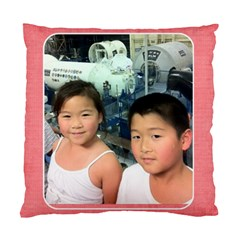 Friends1 By Lihua Ma   Standard Cushion Case (two Sides)   N7oxhnss7gif   Www Artscow Com Back