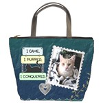My Feline Friend Bucket Bag